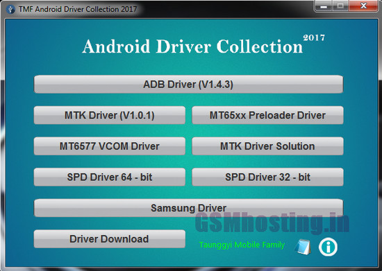 Android Driver Collcetion