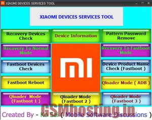 Xiaomi Device Service Tool 100% Working Download